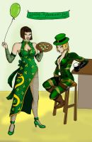 Tekken St Patricks Day by argeiphontes