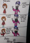 A monkees comic by Jellybabiebunny