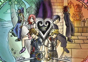 Sora and Roxas by Arabesque91