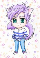 Ched as a Neko by ched101287
