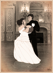 The Waterloo Ball (Sepia) by SimonLMoore