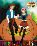 NaruSaku Week 10-31 - Halloween by glaysmerm4id