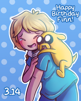 Happy Birthday Finn | 3.14 by HayaMika