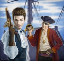 Pirates!Klaine by Riverance
