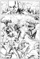 New Avengers Page 4 by jamesq