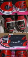 NES Controller Shoes by Paradox-Artistry