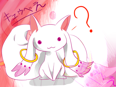 Kyubey by Chaomaster1