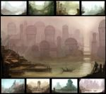 The city of Uruk by DrawingNightmare