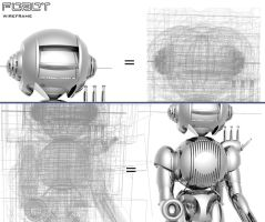 FOBOT wireframe by united-nationtp