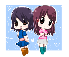 Allyz and Elia by Allyza-Awesome123