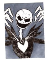 JACK SKELLINGTON Card by RetroStarLing