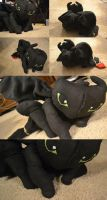 Toothless Finished Project by TheEternalVoice