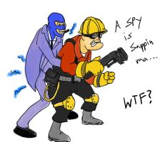 TF2 Sappin by buster126