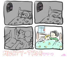 not mighty thor by noristar