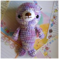 Purple Seal Amigurumi by Keito-San