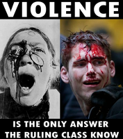 Capitalist Violence by Party9999999
