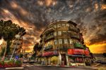 Haifa at Dusk by tomer-jacobson