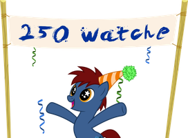 Thanks for 250 watchers by dasprid