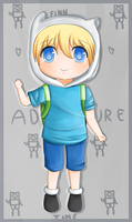 Finn The Human: Adventure time fanart by chocomax