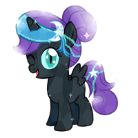 Nyx Crystal Pony by Posey-11