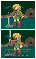 Master Sword? by ColdSandwich