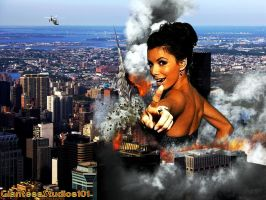 Giantess Eva Longoria Your Next by GiantessStudios101