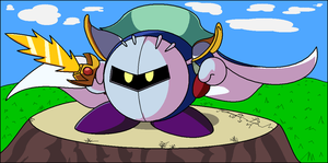 Meta Knight by Bbop800