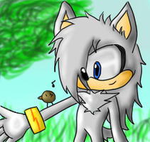 riley the wolf contest entry by Bakura83