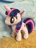 Twilight Sparkle Plush by perfectlyplushie