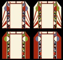 Art Deco Door Frame by Leminnes