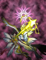 Angewomon by darkengmoon