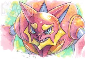 Prettiful Volcanion by ManiacalMew