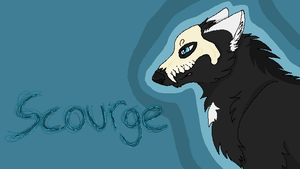 Scourge Wolf by leafclan99