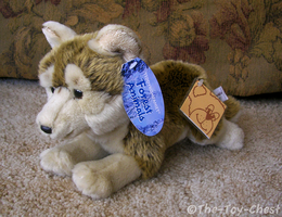 Teddykompaniet Wolf Cub Plush by The-Toy-Chest