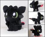 Chibi Toothless by MagnaStorm