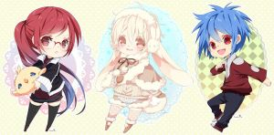 Chibi commission batch15 by inma