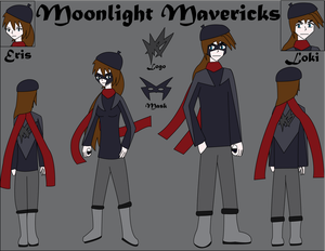 Moonlight Mavericks Uniform and Logo