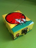 Okami wooden box by anapeig