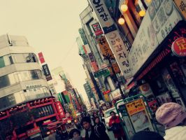 Myeong-dong by unweaving
