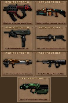 Red Faction 2 Final Weapon Concepts 002 by Egserk