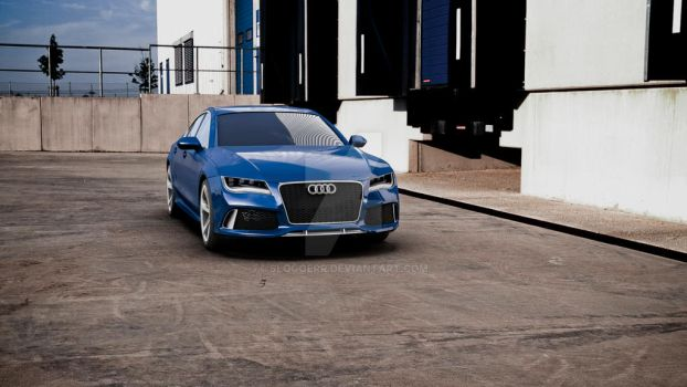 Audi RS7 by sloggerr