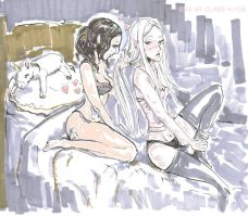 Underwear party w Irene-chaaan by eva-st-clare