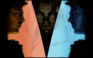 McKirk Wallpaper Star Trek by Valentine-Fair