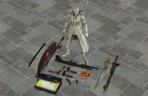 'Devil May Cry 4' Items pack 2 XPS ONLY!!! by lezisell