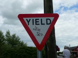 Yield for... oh... by internaldiscord