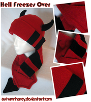 Devil Hat - Hell Freezes Over by AutumnHoney