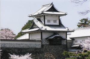 Kanazawa castle in Japan by 7emeralds