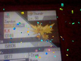 my zapdos by MienfooInTraining