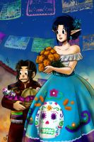 Day of the dead Camlost-Fana by camlost