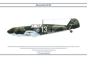 Bf 109 E-3 JG51 3 by WS-Clave